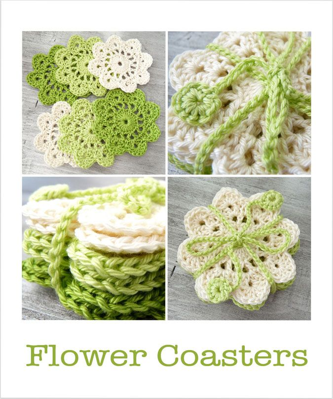 Crochet Coasters and Pennants