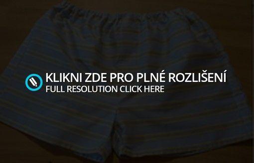 Pánské trenýrky s poklopcem (střih + fotonávod) | Blog Jany Trávníčkové