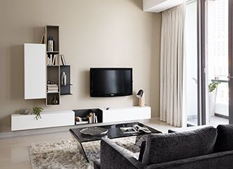 boconcept istra sofa adria coffee table and lugano wall. Black Bedroom Furniture Sets. Home Design Ideas