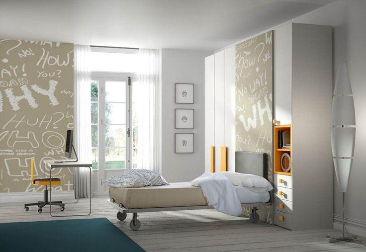 Teenage bedroom TIRAMOLLA 116 Tiramolla Collection by TUMIDEI | design Marelli e Molteni