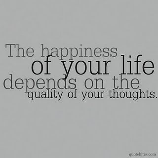 Love this one. I think that this is one of the most important things that I have learned about life...