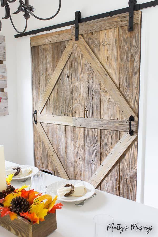 How to Build a Sliding Barn Door (with a pet door!) | Barn ...