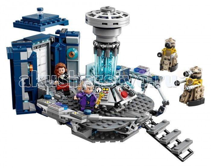 Конструктор Lego Ideas Доктор Кто  Конструктор Lego Ideas Доктор Кто   «Доктор Кто» - британский научно-фантастический телесериал компании «Би-би-си» об инопланетном путешественнике во времени, известном как Доктор. Вместе со своими спутниками он путешествует во времени и пространстве как для спасения целых цивилизаций или отдельных людей, так и для собственного удовольствия. (Википедия)  Особенности: Включает в себя 4 минифигурки с различными аксессуарами: Одиннадцатый Доктор, Двенадцатый…