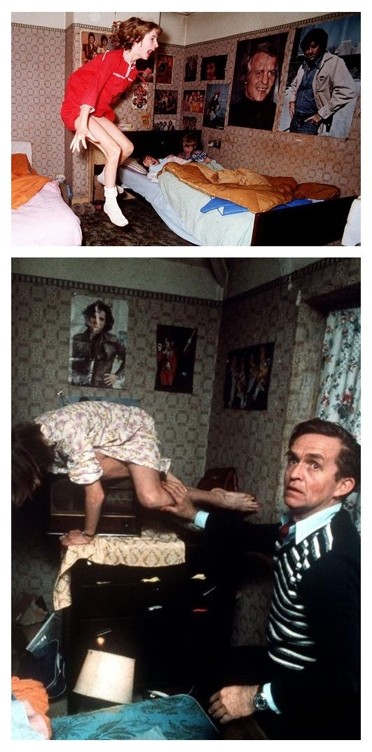 One of the most famous cases of Poltergeist activity in the world took place in a normal council house in Brimsdown, Enfield, England between 1977 and 1979. The activity revolved around a young girl, Janet Hodgson, and has went on to be known around the world as The Enfield Haunting. Many people still believe the claims of the family members involved.....many believe it was a hoax from start to finish. Google the various accounts and stories then judge for yourself !!