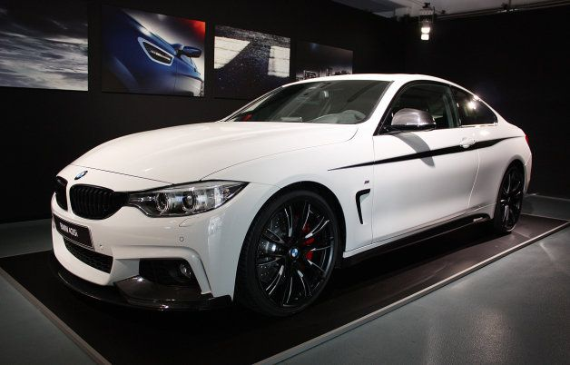 BMW shows off 435i Coupe with M Performance parts