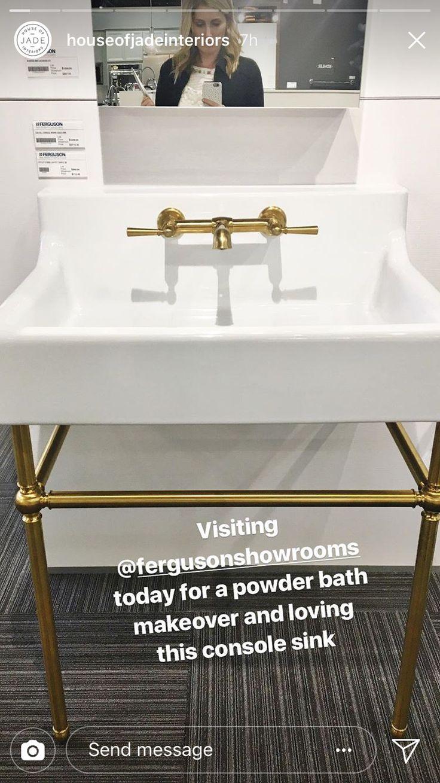 Ferguson Showrooms Vanity sink