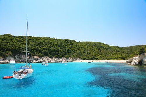 kustlijn van Corfu
