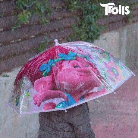 Paraguas Transparente Burbuja Lila Trolls - 439 Sorprende a los más pequeños de la casa con el paraguas transparente burbuja lila Trolls! Este paraguas es el complemento perfecto para todos los niños.Estructura: 75 % metal 25 %...