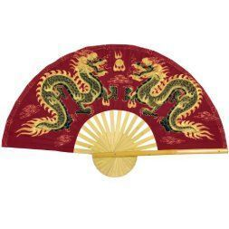Japanese Wall décor is truly mystical, enchanting and  beautiful.  Chances are you have seen  those pretty Japanese wall fans or a captivating cherry blossom painting.  Either way Japanese home wall art décor is  stylish, unique and very popular in homes across the USA.    Oriental Furniture Fiery Dragons Wall Fan - 60