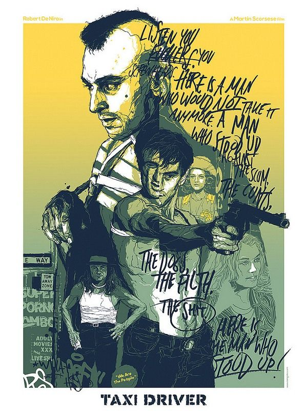 """Listen you fuckers, you screwheads. Here is a man who would not take it anymore. A man who stood up against the scum, the cunts, the dogs, the filth, the shit. Here is someone who stood up. Here is..."" Travis Bickle - Taxi Driver"