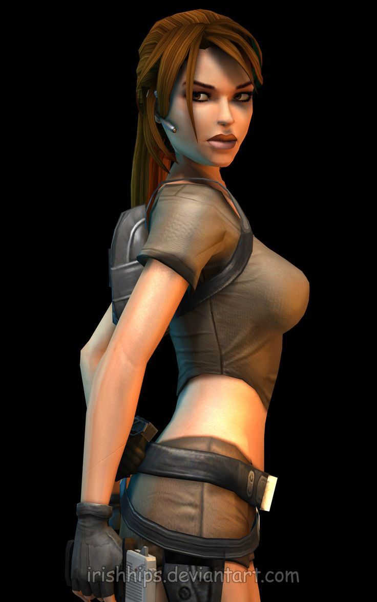 Lara Croft: Tomb Raider Legend 4 by Irishhips