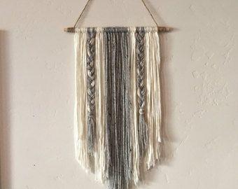Modern Yarn Wall Hanging