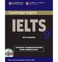 Cambridge IELTS 9 Self study Pack (student' s Book with Answers and Audio CDs (2)) Authentic Examination Papers from Cambridge ESOL (Ielts Practice Tests) By (author) Cambridge ESOL -Free worldwide shipping of 6 million discounted books by Singapore Online Bookstore http://sgbookstore.dyndns.org