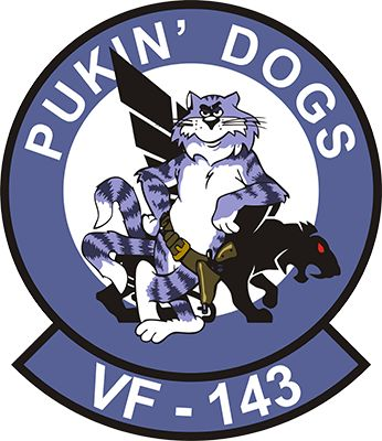 F-14 Tomcat VF-143 Pukin' Dogs