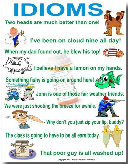 English Idioms - #learn #english #esl #toefl