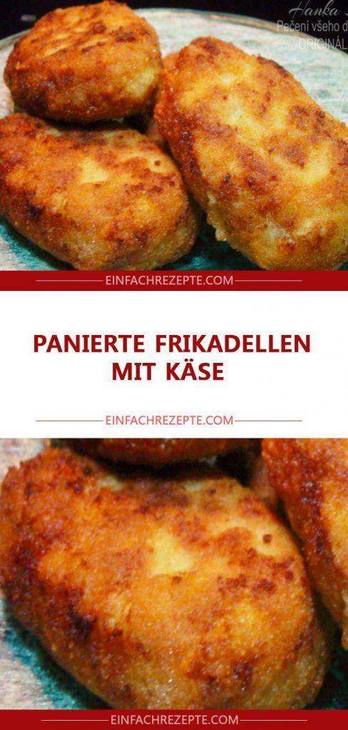 Panierte Fleischbällchen mit Käse 😍 😍 😍   – Maria Ordner