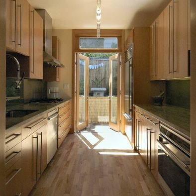 Galley Kitchen Design Galley Kitchens And Page 3 On Pinterest