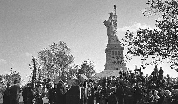 Washington Post: May 18, 2014 - LBJ's 'Great Society' 50 years later