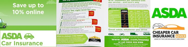 ASDA Car Insurance   ASDA Insurance provides different insurance policies according to the needs of people. It provides home Insurance travel trips motor vehicles household pets and so on. I am writing this article on car insurance. There are many providers in the UK but if you are looking for cheap and best policy you should go for it. It will give full cover to you and you will get full protection for yourself and for your vehicle. There are so many reasons which tell us that we should buy…
