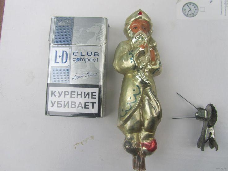 Елочная игрушка СССР старик хоттабыч