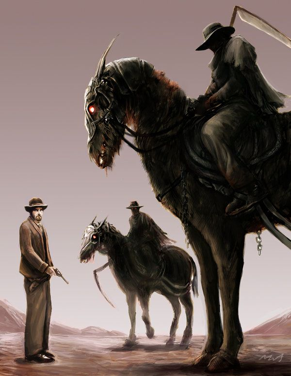 Western: Gates of Hell by ~TheChaoticKnight on deviantART