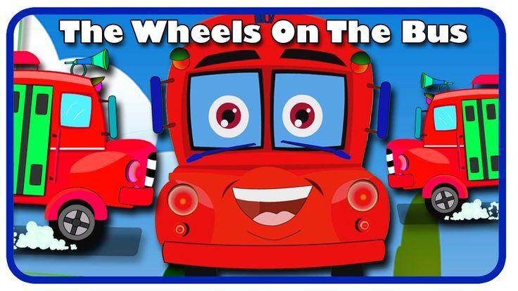 Wheels On The Bus Rhyme by Cortoonmart