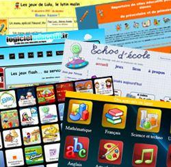 Voici une sélection de sites éducatifs pour trouver des centaines de jeux et exercices que l'on peut exploiter à l'école ou à la maison.