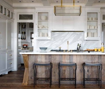 Like the re-purposed wood under the bar.