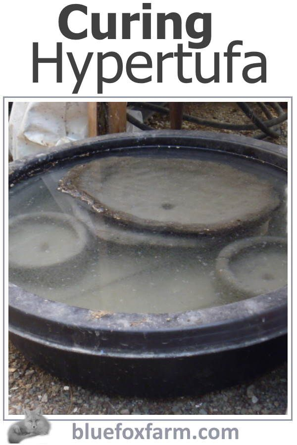 Curing Hypertufa Crucial Steps For A Long Lived Project Hypertufa Concrete Diy Projects Creative Garden Pots