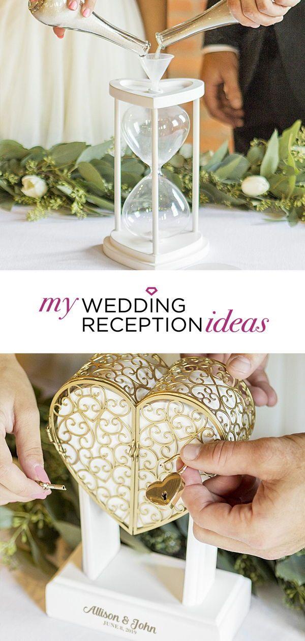 Wedding Ceremony Decoration Ideas Add A Vow Keepsake Lock Box Or A Unity Sand Hourglass To Yo Wedding Ceremony Unity Wedding Sand Unity Sand Ceremony Wedding