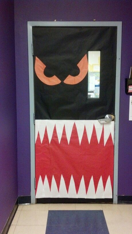 halloween door decorating contest - Halloween Crafts For The Classroom