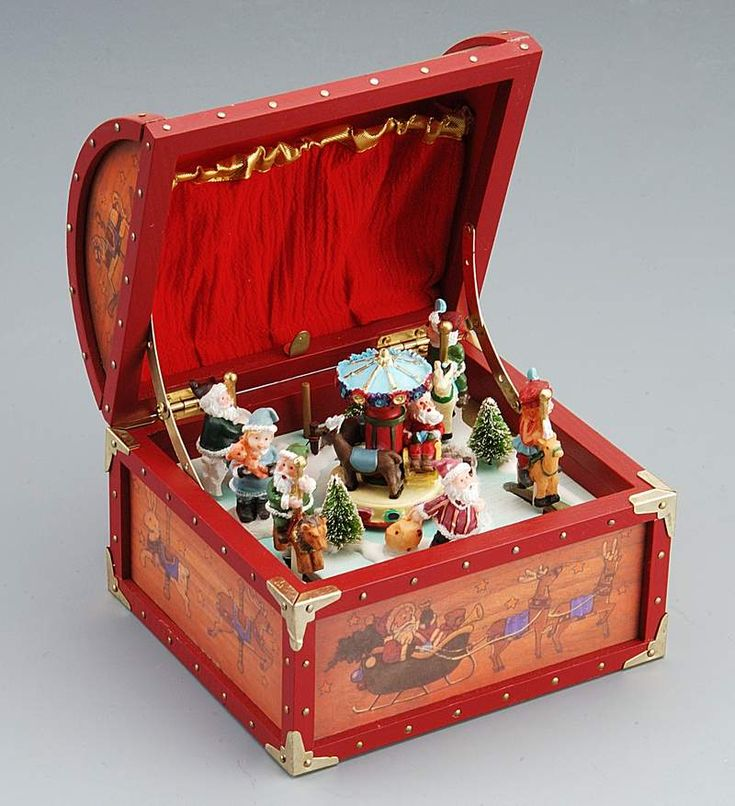 music boxes | Christmas Music Box