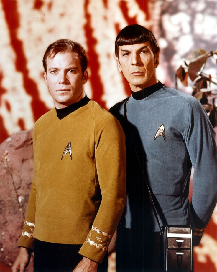 Spin a dreidel with Captain Kirk and Mr. Spock! Shatner and Nimoy. The Enterprise run by Jewish dudes... did you know? What does it mean? It means GOD was part of our vicarious Journey...