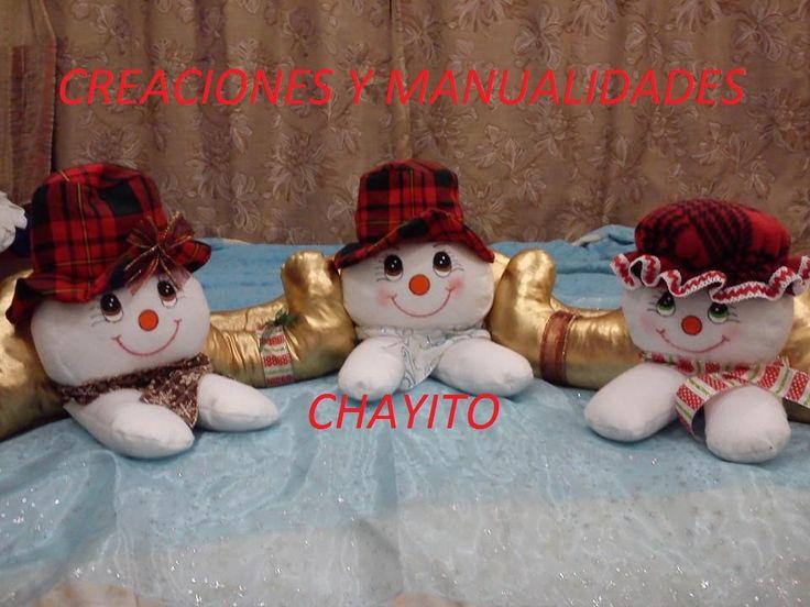 muñecos de nieve para los sillones