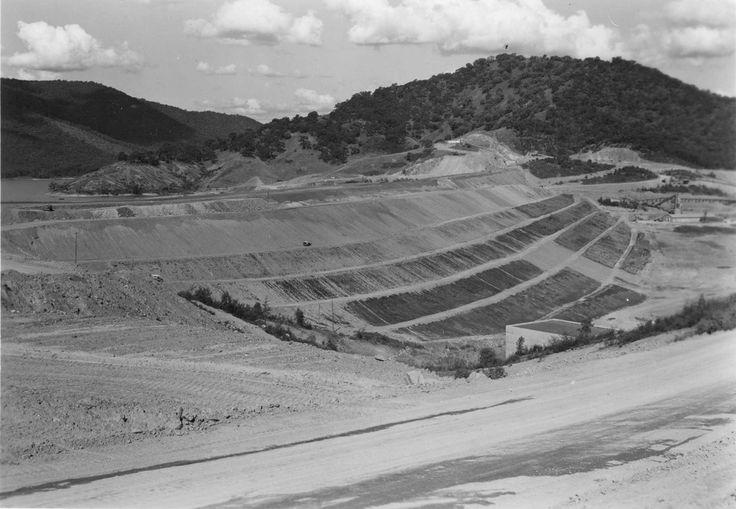 New Eildon Dam Wall under construction
