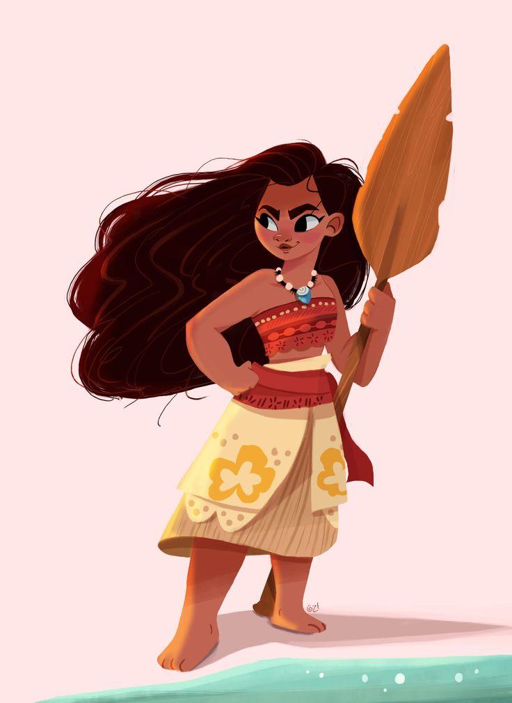 Top 10 Punto Medio Noticias   Moana Maui Character Design