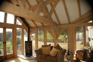 Crossframes - hand built timber framed houses, extensions and balconies