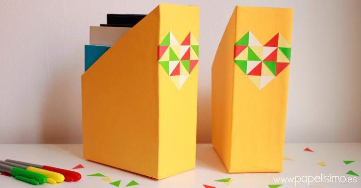 archivador de cajas de cereales