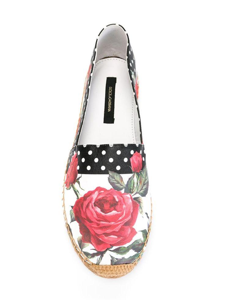 Dolce & Gabbana Espadrille estampada
