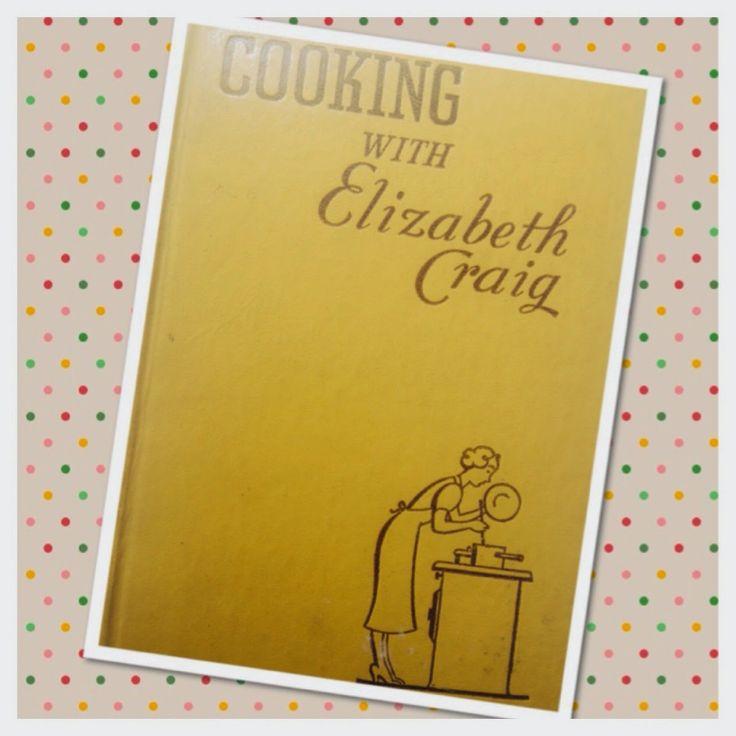 The Vintage Kitchen, cooking with elizabeth craig, recipe book, vintage, kitchenalia, retro