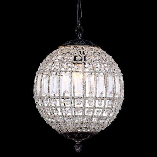 Milles Ball Chandelier Lights Flush Crystal Clical
