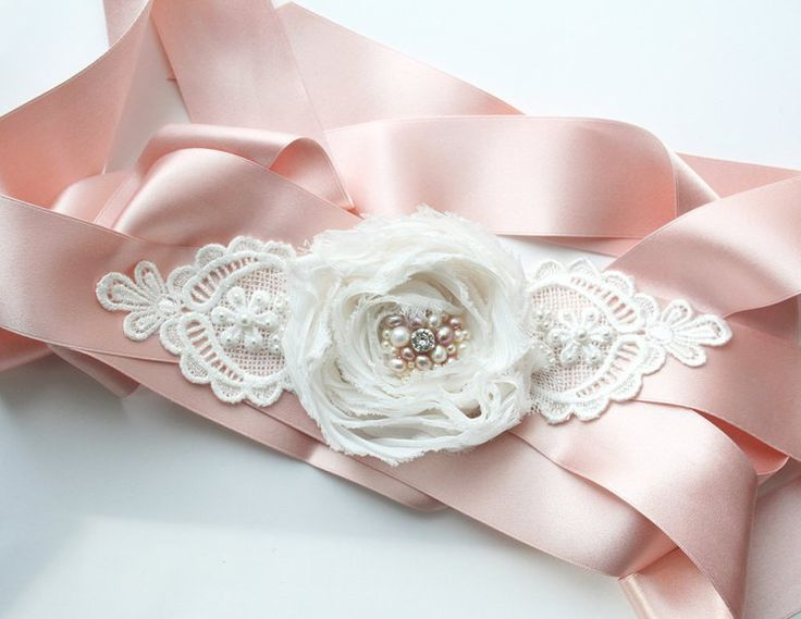 Pink Wedding Dress Sash : Pink wedding dress sash new ideas via