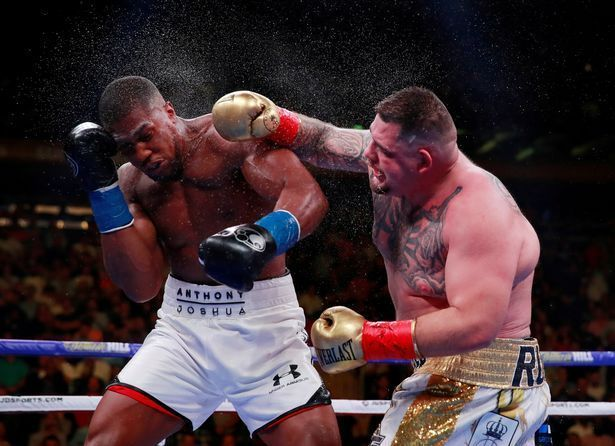Andy Ruiz Jr Agrees Terms On Anthony Joshua Rematch As Saudi Arabia Fight Gets Green Light Anthony Joshua Anthony Joshua Vs Boxing History