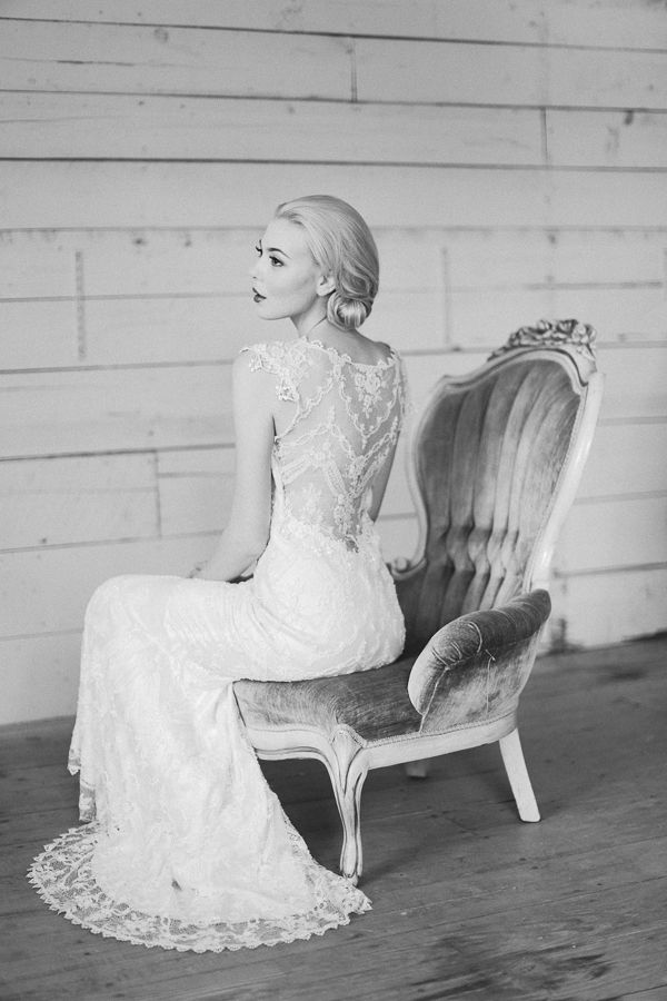 Romantic Spring Wedding Ideas - Blog - RENT MY DUST Vintage Rentals. Photo by Apryl Ann Photography, Chair by Rent My Dust