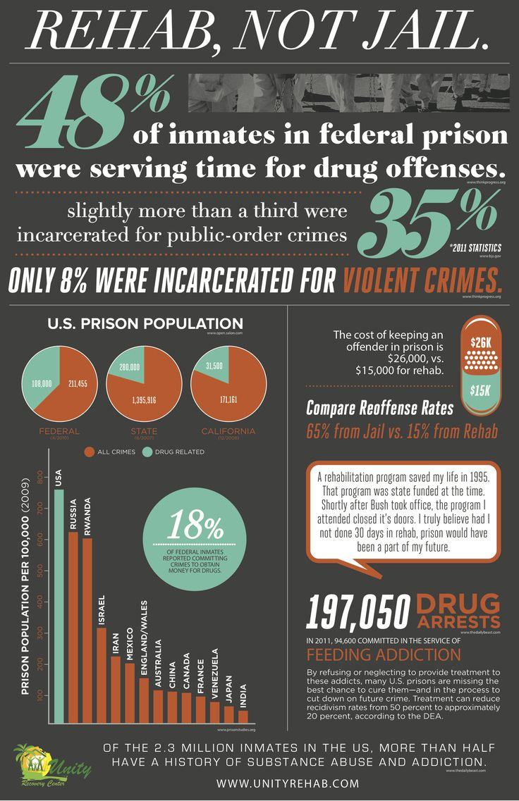 Corrections, Rehabilitation and Criminal Justice in the United States: 1970-Present