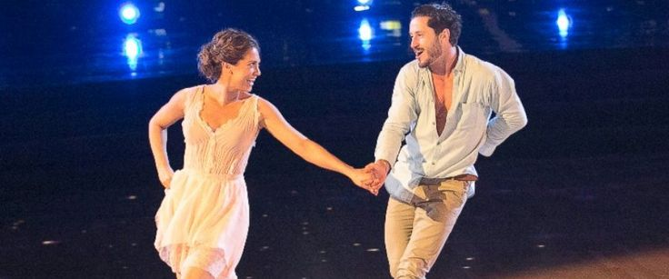 "PHOTO: Ginger Zee, left, competes on ""Dancing With The Stars."""