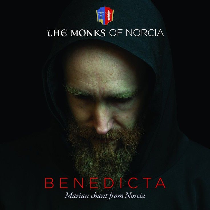 Inspiring and beautiful chant music at it's very best from the Benedictine Monks of Norcia, Italy.  Benedicta: Marian Chant from Norcia is a glorious recording of 33 tracks of Gregorian chant, that transports the listener to the Monks' idyllic monastery in Italy. (http://store.casamaria.org/benedicta-marian-chant-the-monks-of-norcia/)