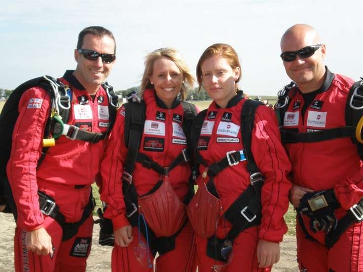 The annual Midlands Air Ambulance Red Devil Sky Dive Challenge on July 3rd will take you into the clouds and after a 15 minute flight whilst looking at some incredible views of the local countryside, you will reach your jumping altitude at roughly 2 miles up - or down, however you wish to think of it! For a sky dive fundraising pack and to book your space contact; Michelle McCracken on 0800 8402040.