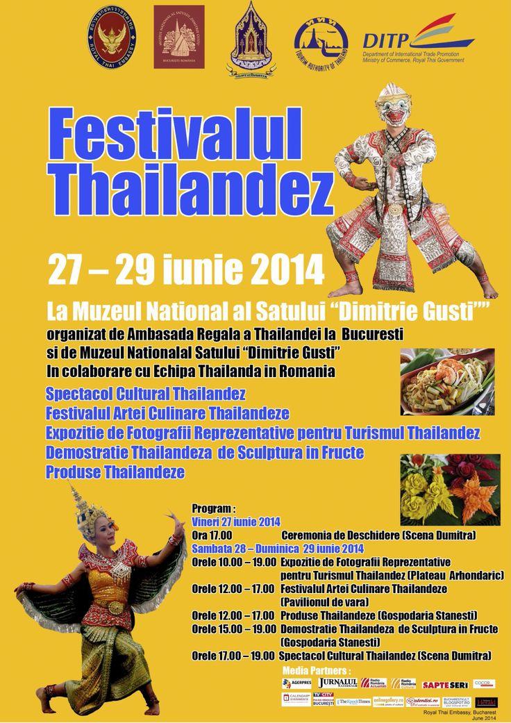 Festivalul Thailandez  27-29 iunie  2014