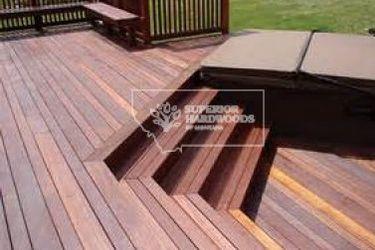 Batu Red Mahogany Deck Wood   Superior Hardwoods